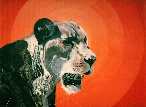 Lioness by Denis Gloudeman