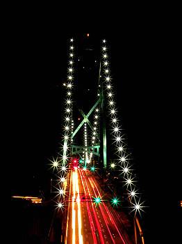 Lion's Gate Bridge Vancouver by Brian Chase