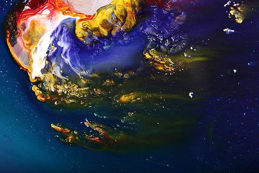 Liquid Abstract Art-Dream Escape 3 by Serg Wiaderny