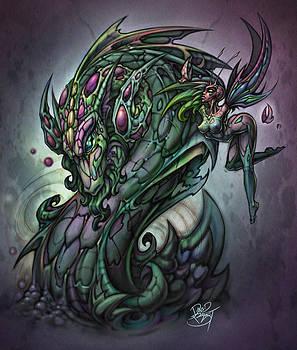 Liquid Dragon by David Bollt