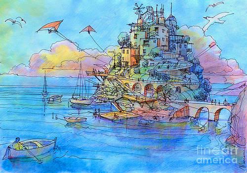 L'isola degli aquiloni by Luca Massone