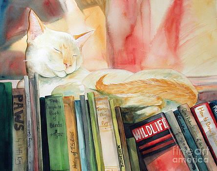 Literary Cat by Elizabeth  McRorie