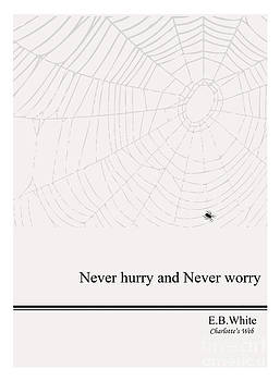 Literary Quote- E.B. White - CW by Trilby Cole