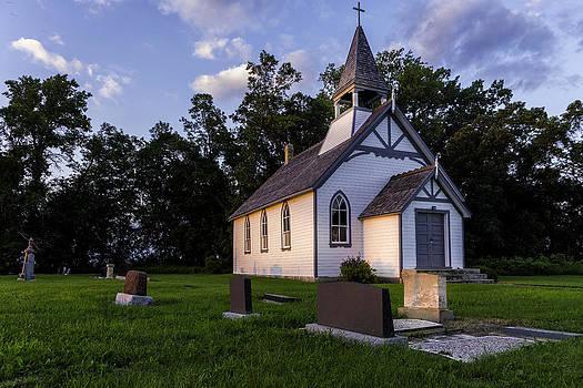 Little church on the prairie by Nebojsa Novakovic