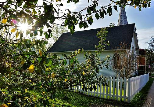 Little Country Church by Jean Goodwin Brooks