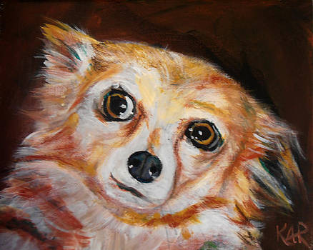 Little Doggie by Art by Kar