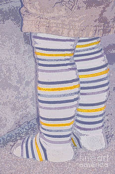 Little Feet-Yellow by Molly McPherson