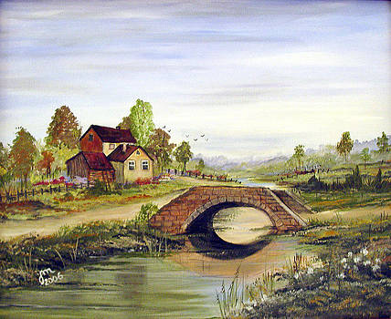 Little house over the bridge by Dorothy Maier