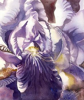Alfred Ng - little iris watercolor