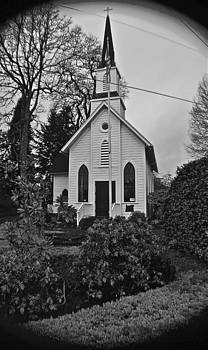 Little Old Church  by Rae Berge