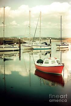 Little Orange Boat III by Pete Edmunds