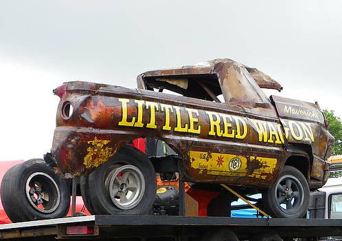 Little Red Wheelstander by Sarah Egan