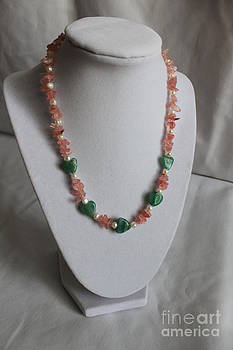 Little Rosa Necklace by Amy Gallagher