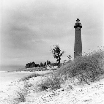 Little Sable Point Lighthouse by Jeff Burton