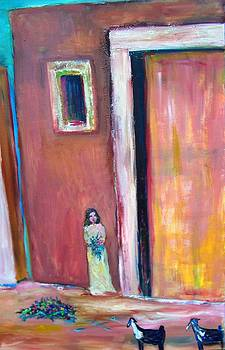 Patricia Taylor - Little Saudi Village Girl Wadi Hanifa 1977
