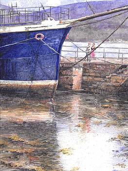 Little Scottish Harbor by Sarah Kovin Snyder