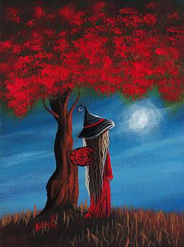 Little Witch Fairy Original Artwork by Shawna Erback