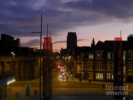 Liverpool Anglican Cathedral. by Tony Hoy