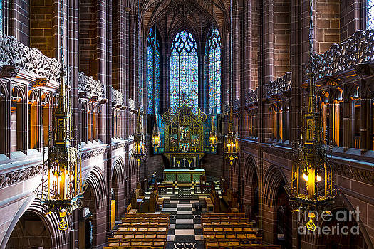 Svetlana Sewell - Liverpool Cathedral