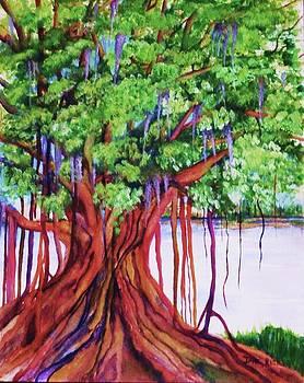 Living Banyan Tree by Jane Ricker
