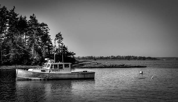 Lobster boat by Jahred Allen