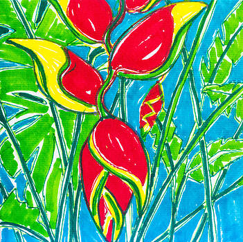 Lobster Claw Heliconia by Kelly     ZumBerge