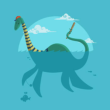 Loch Ness Monster by Michael Myers