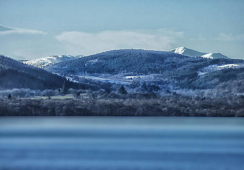 Loch Ness Winter Blues by Jacqi Elmslie