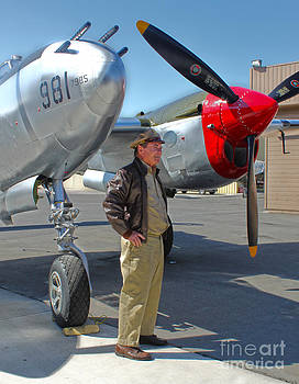 Gregory Dyer - Lockheed P-38L Lightning Honey Bunny  - 05