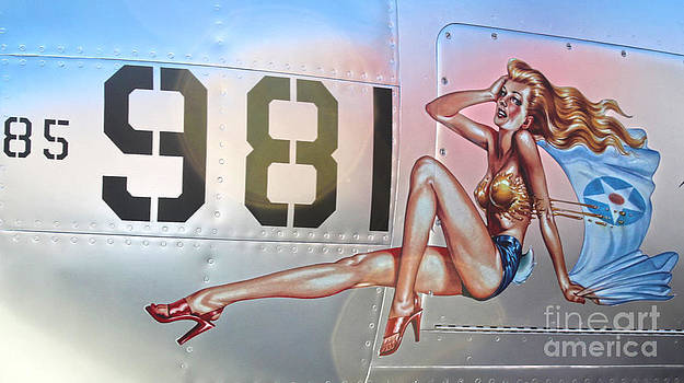 Gregory Dyer - Lockheed P-38L Lightning Honey Bunny Nose Art - 02