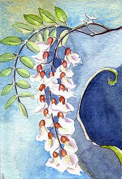 Locust Bloom by Katherine Miller