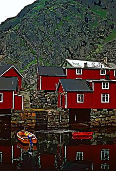 Steve Harrington - Lofoten Fishing Huts 2