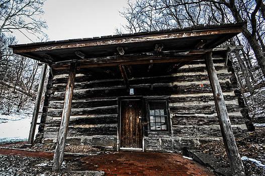 Log Cabin by Jim Wilcox