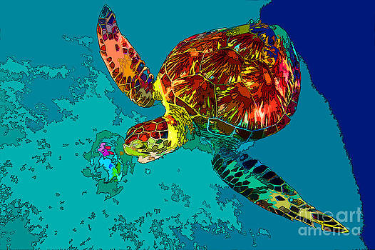 Loggerhead Lunch by Keri West