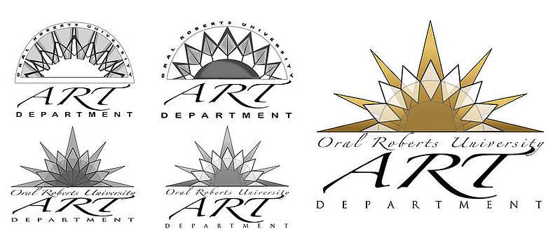 Logo for University Art Dept. by Veronica Webster