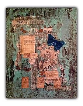 L'oiseau Et Les Papillons by Schroder Konate