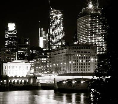 London Bridge at Night by James  Wasdell