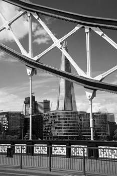 London Bridge with The Shard by Chevy Fleet