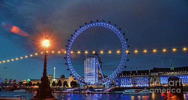 London eye by Benny Ventura