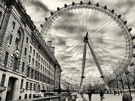 London Eye by Brian Orlovich