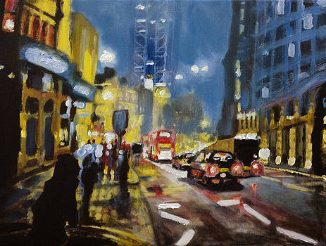 Paul Mitchell - London Night Lights