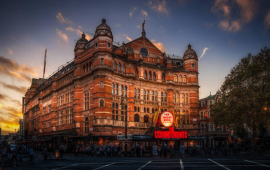 London Palace Theatre by Dobromir Dobrinov