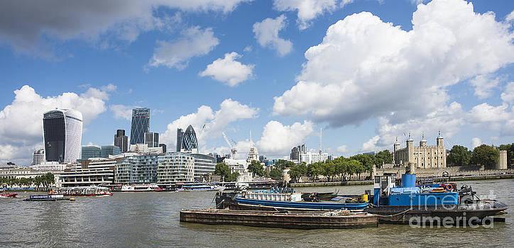 London Panoramic by Donald Davis