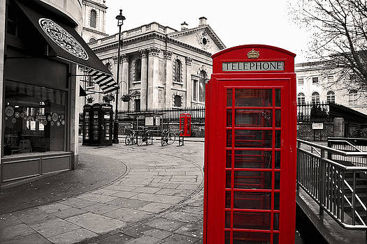 London Telephone by Adrian Pava