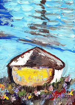 Lone Boat by Joe Byrd