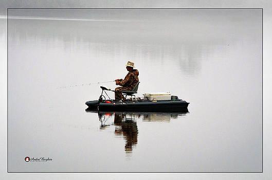 Lone Fisherman by Andre Boykin