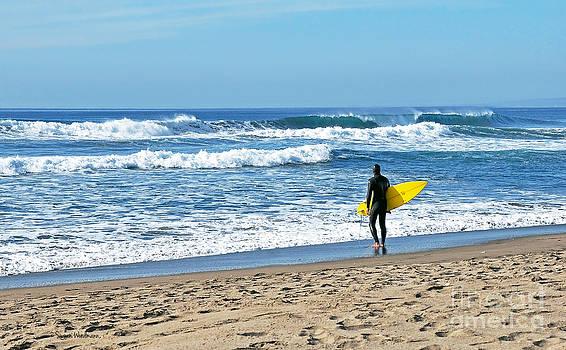 Susan Wiedmann - Lone Surfer
