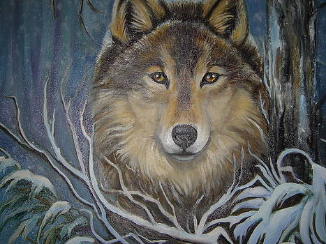Lone wolf by Janet Silkoff