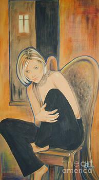 Lonely Angel by Ottilia Zakany