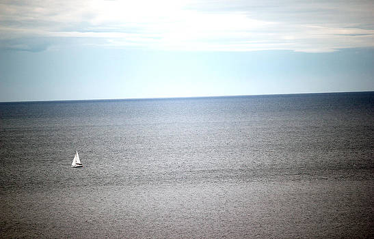 Lonely Boat  by James  Wasdell